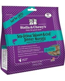 Stella & Chewy FD Cat Salmon and Cod 8 oz.