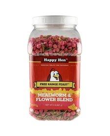 Happy Hen Mealworm & Flower Blend 2 lb