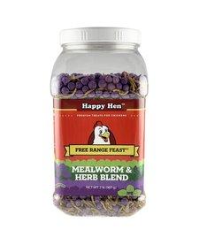 Happy Hen Mealworm & Herb Blend 2 lb