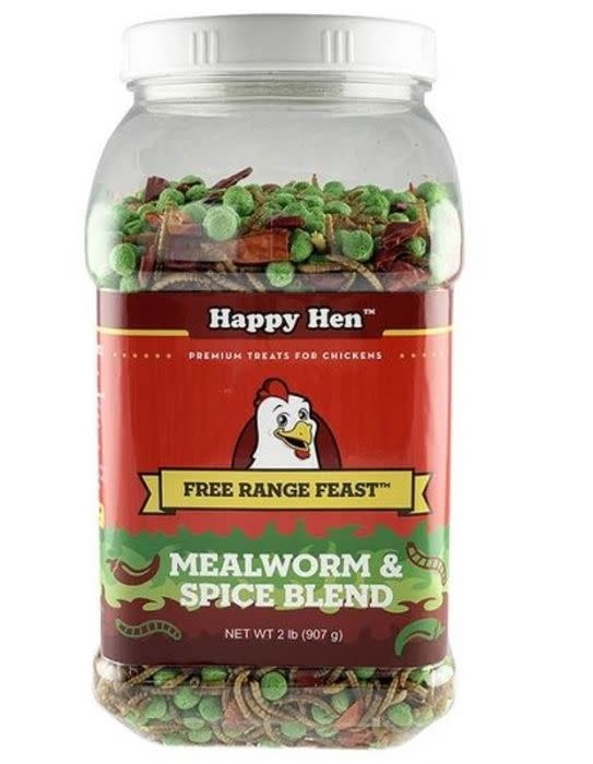 Happy Hen Mealworm & Spice Blend 2 lb