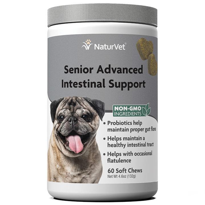 NaturVet Senior Intestinal Support 60 ct
