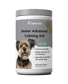NaturVet Senior Calming Aid 60 ct