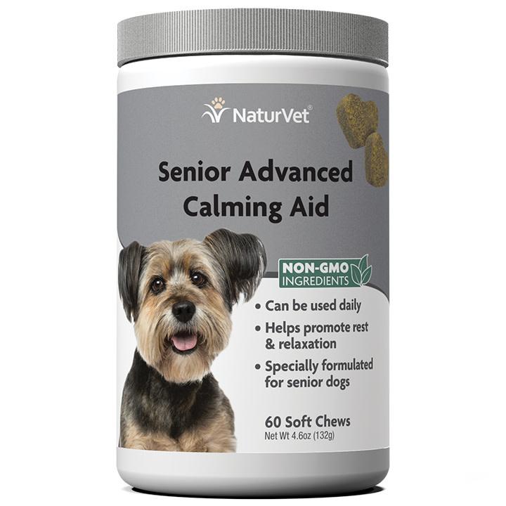 NaturVet Senior Calming Aid 60 ct