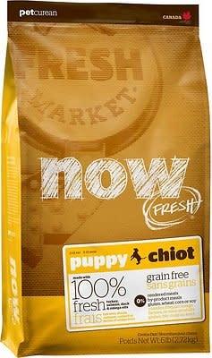 Petcurean Now Fresh Puppy 12 lb