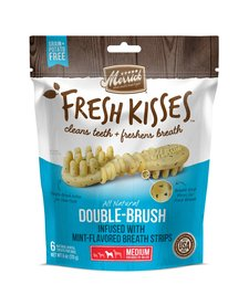 Fresh Kisses Mint Strips Brush 6 oz Medium