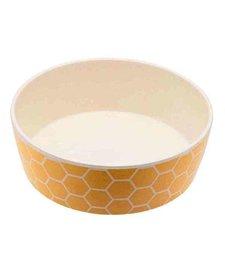 Beco Pets Bamboo Bowl Bees Small