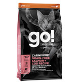 Petcurean Go! Cat Carnivore Salmon & Cod 3 lb