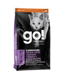 Go! Cat Carnivore Chicken, Turkey & Duck 3 lb
