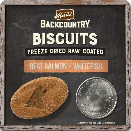 Merrick Merrick Backcountry Biscuits Salmon & Whitefish 10 oz