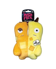 Spunky Pup Alien Flex Plush Jimmy & Joe