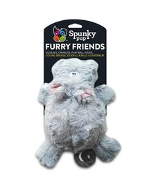 Spunky Pup Furry Friends Hippo