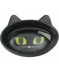 "Frisky Kitty 5.5"" Oval Black"