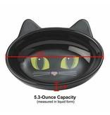 """Frisky Kitty 5.5"""" Oval Black"""