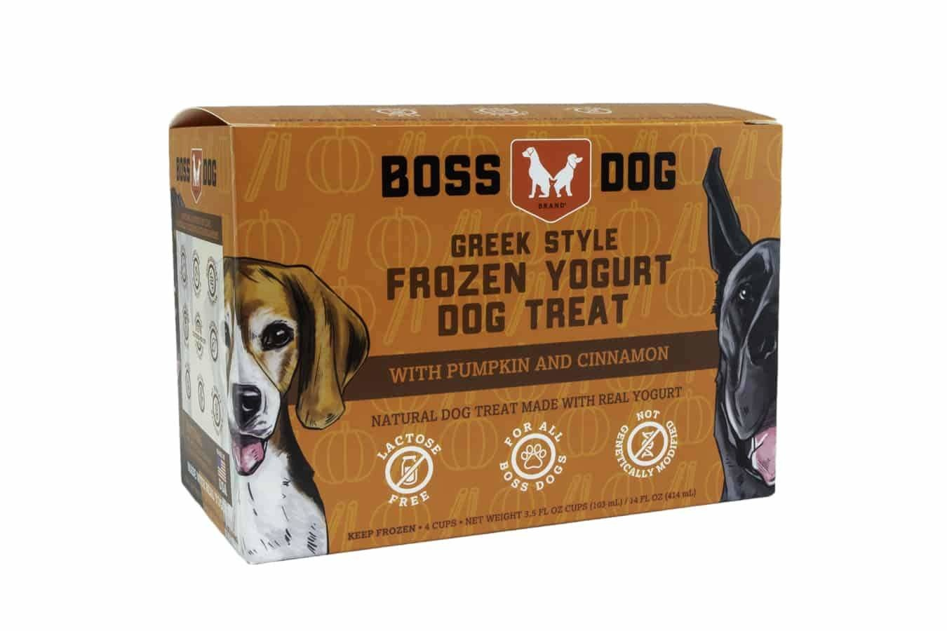Boss Dog Boss Dog Frozen Yogurt Pumpkin Box