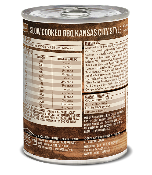 Merrick Merrick Kansas City Style BBQ 12.7 oz