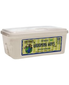 Earthbath Green Tea Grooming Wipes 100ct