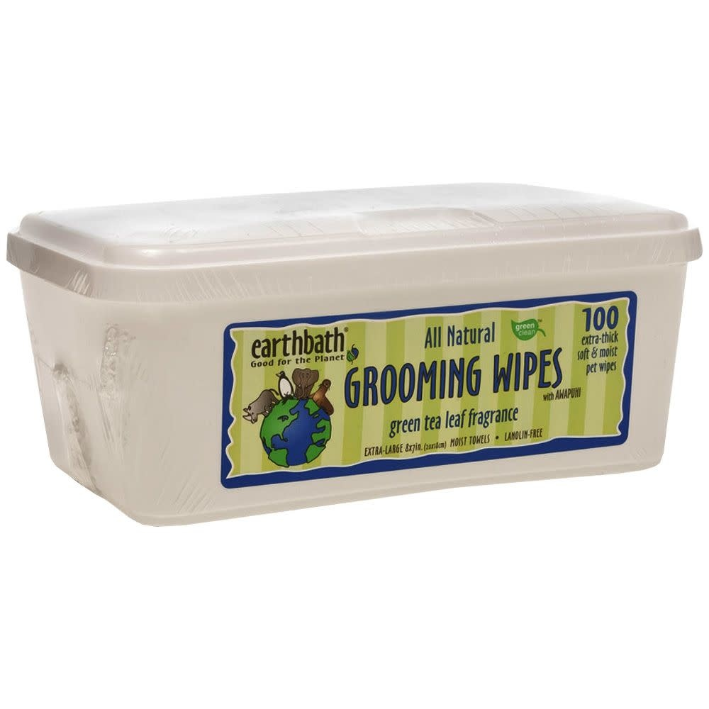 Earthbath Green Tea Grooming Wipes 100ct