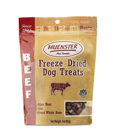 Muenster Freeze Dried Beef Treats 5 oz