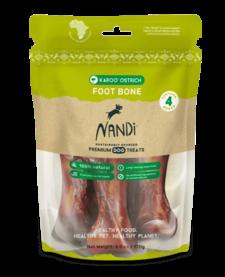 Nandi Karoo Ostrich Foot Bone 4ct