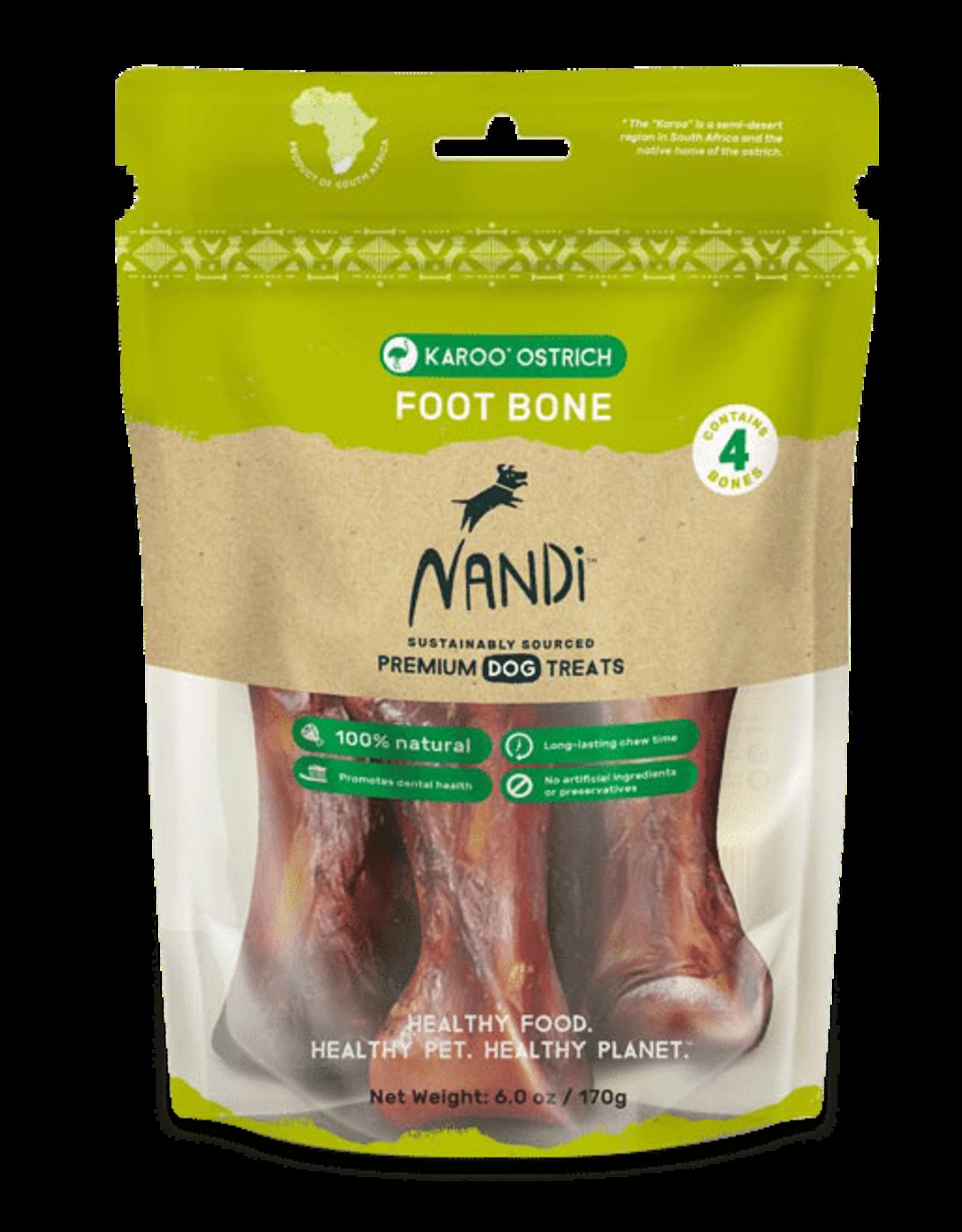 Nandi Nandi Karoo Ostrich Foot Bone 4ct