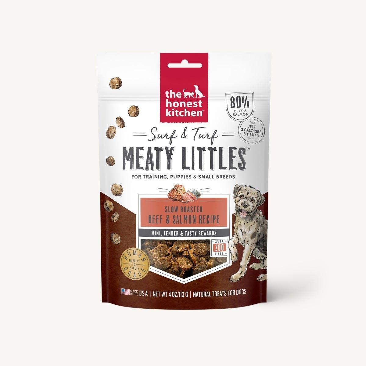 The Honest Kitchen Honest Kitchen Meaty Littles Beef & Salmon 4 oz