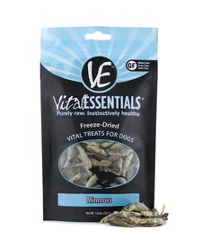 Vital Essentials Dog Freeze Dried Minnows 2.5 oz