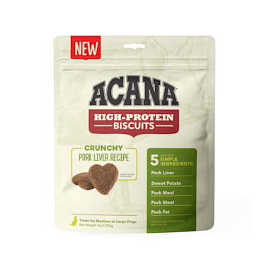 Acana (Champion) Acana High Protein Pork Liver Biscuits Small 9 oz
