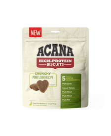 Acana High Protein Pork Liver Biscuits Large 9 oz