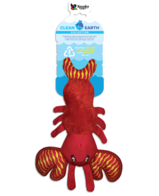 Spunky Pup Clean Earth Lobster Plush