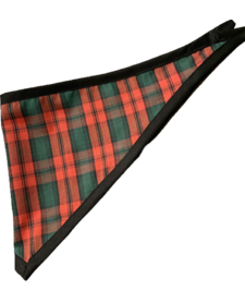 Savvy Trends Plaid Bandana Medium