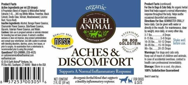 Earth Animal Earth Animal Aches & Discomfort