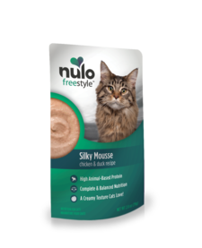 Nulo Freestyle Silky Mousse Chicken & Duck 2.8 oz