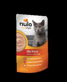 Nulo Freestyle Silky Mousse Chicken & Salmon 2.8 oz