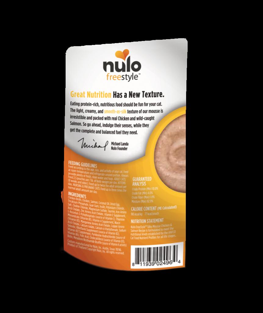 Nulo Nulo Freestyle Silky Mousse Chicken & Salmon 2.8 oz