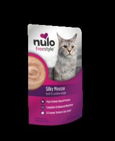 Nulo Freestyle Silky Mousse Sardine & Beef 2.8 oz