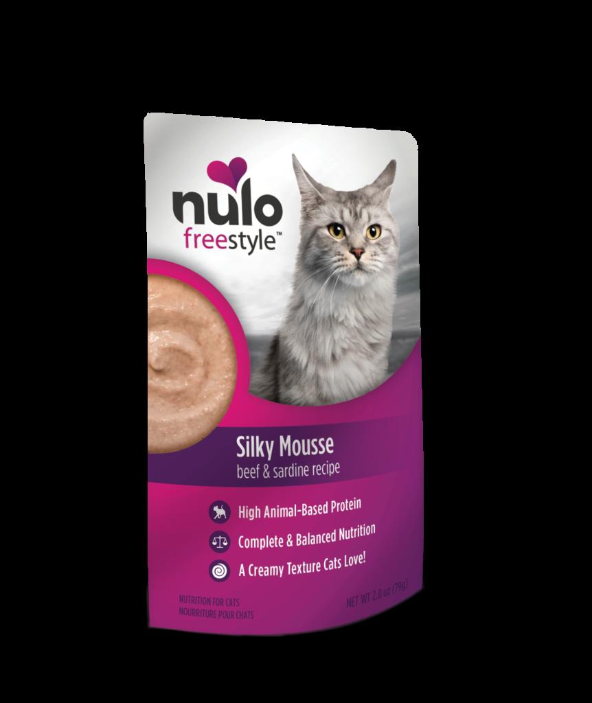 Nulo Nulo Freestyle Silky Mousse Sardine & Beef 2.8 oz