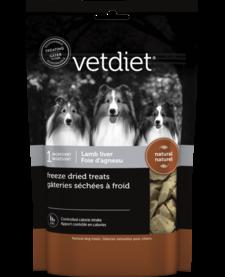 Vetdiet Freeze-Dried Lamb Liver 3 oz
