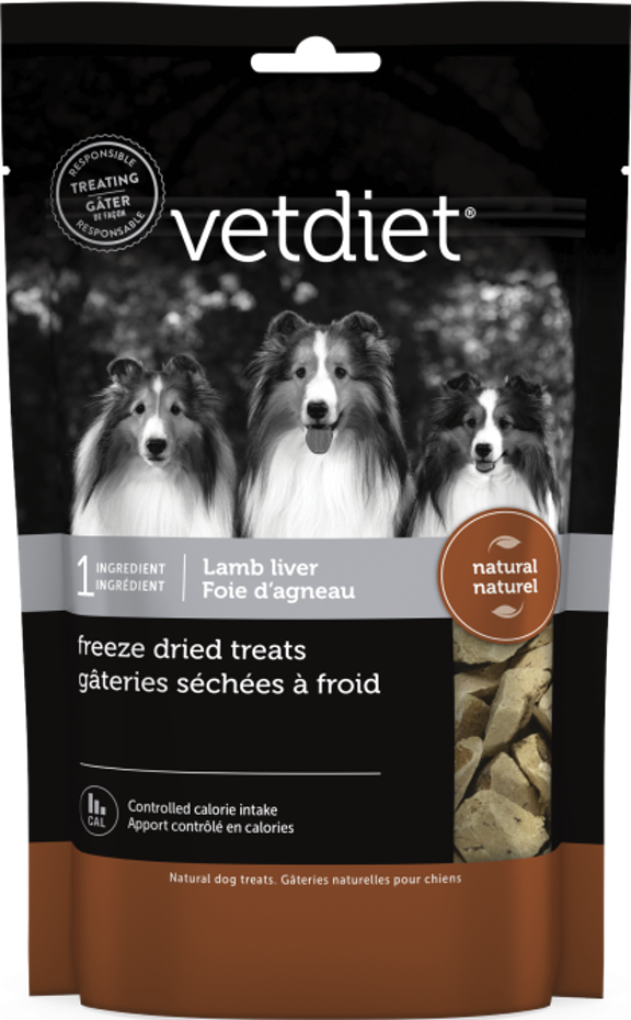 VetDiet Vetdiet Freeze-Dried Lamb Liver 3 oz