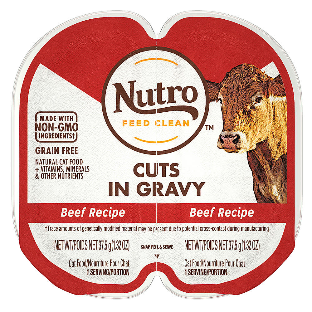 Nutro (Mars, Inc.) Nutro Perfect Portions Beef Cuts in Gravy 2.6 oz