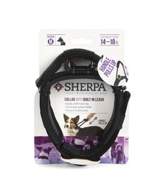 Sherpa Collar with Built-In Leash Medium