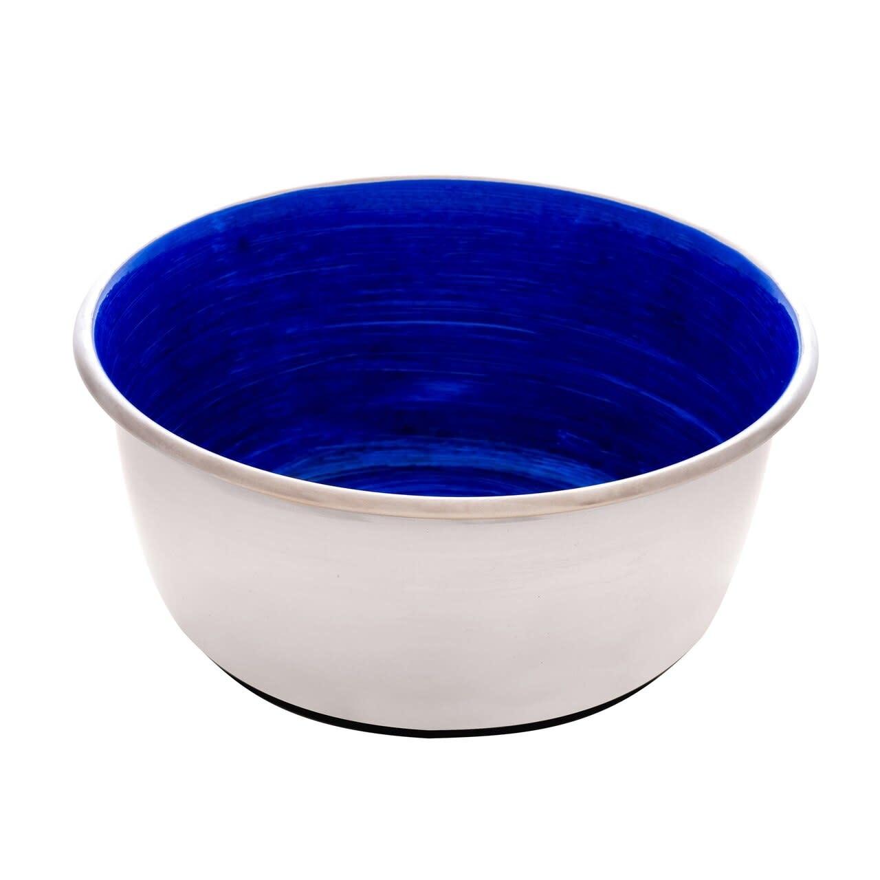 Dogit S/Steel Blue Swirl Bowl 32 fl.oz