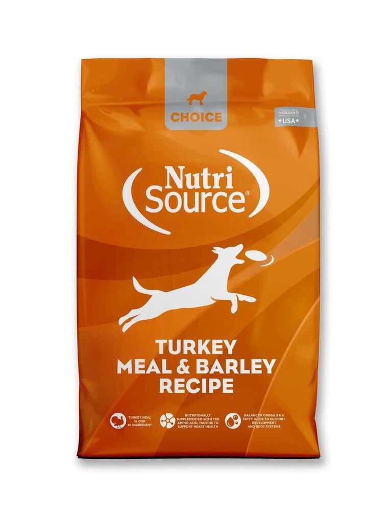 Nutrisource (KLN) NutriSource Choice Turkey & Barley 30 lb