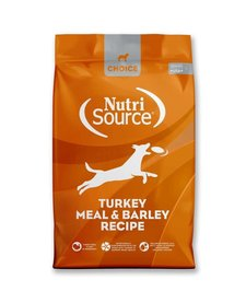 NutriSource Choice Turkey & Barley 5 lb