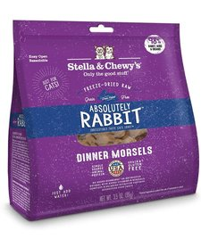 Stella & Chewy Freeze-Dried Rabbit Dinner Morsels 3.5 oz