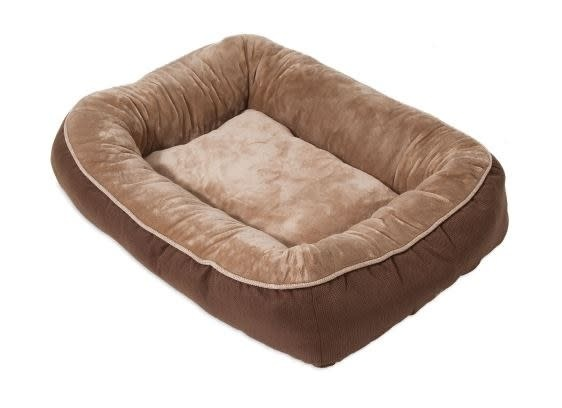 Petmate Snoozzy Rustic Bumper Bed Brown Large