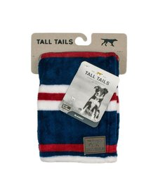 Tall Tails Nautical Stripe Blanket 30 x 40