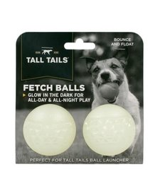 Tall Tails Glow in the Dark Fetch Balls 2 ct