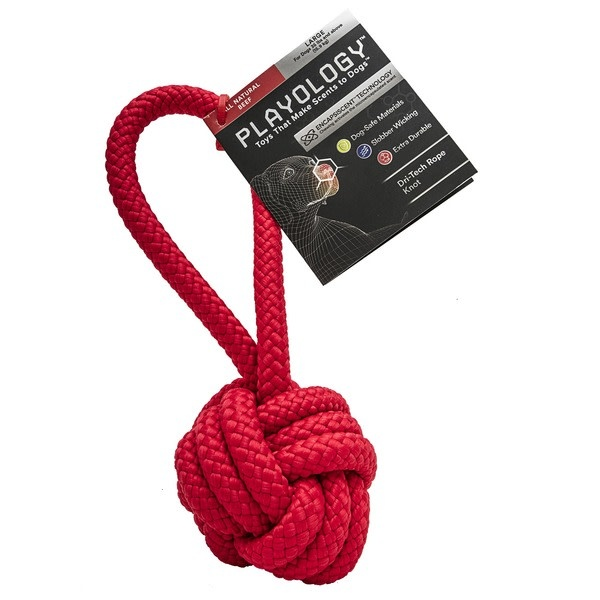 playology Playology Rope Knot  Beef Large