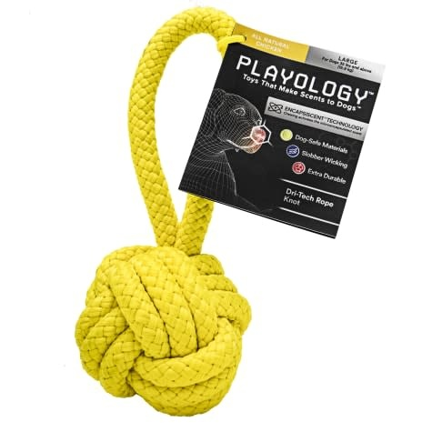 playology Playology Rope Knot Chicken Large