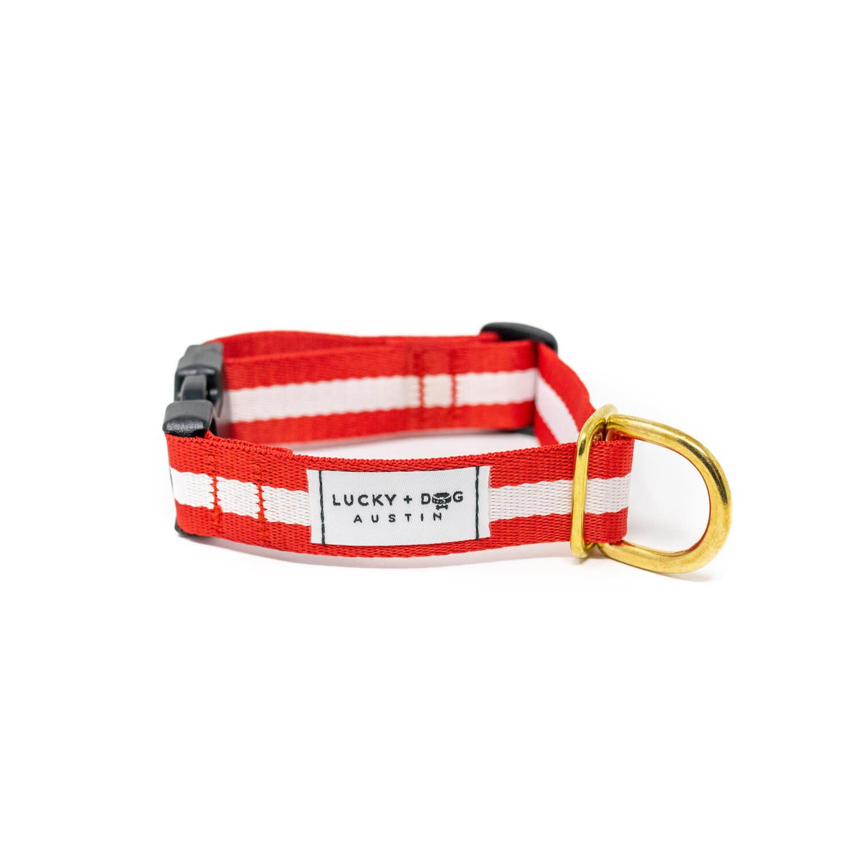 Lucky + Dog Lucky + Dog Everyday Collar The Crimson SM